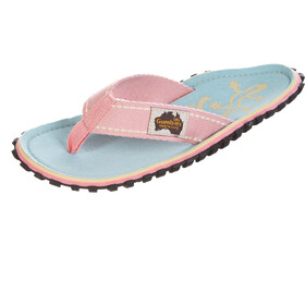 GUMBIES Islander Canvas Thongs gecko